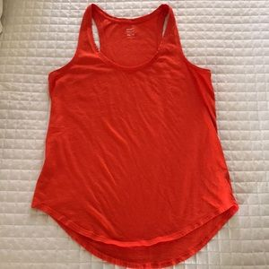 Old Navy orange racerback tank